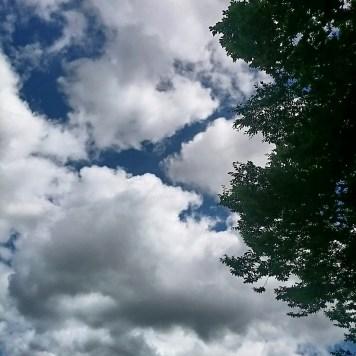 Grandioser Himmel heute