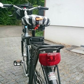 Und auf zur Fahrrad-Inspektion.