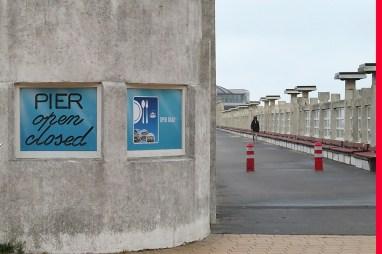 Open? Closed? Das unentschlossene Pier...