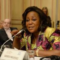 """VIDÉO - Congo: Antoinette Sassou, agressée verbalement à Paris """"pardonne à ses agresseurs"""""""