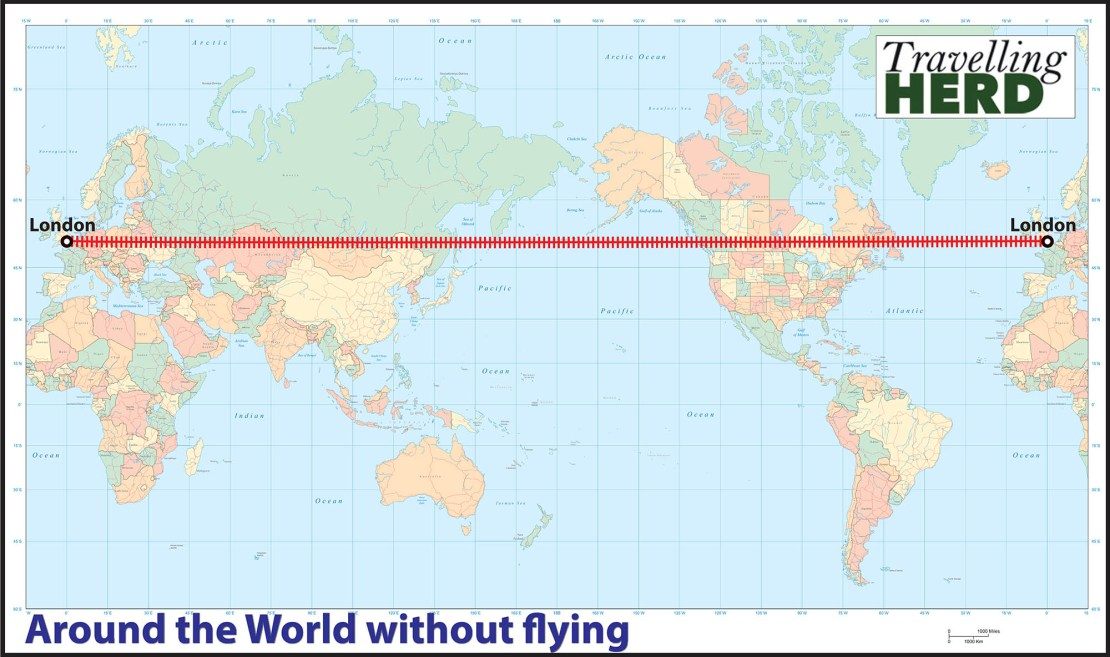 Round the World without flying?