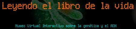 """Logo del Museu Virtual """"Leyendo el libro de la Vida"""""""