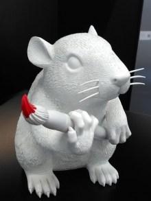Banksy - Rat en sculpture