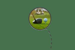 colpo iniziale golf