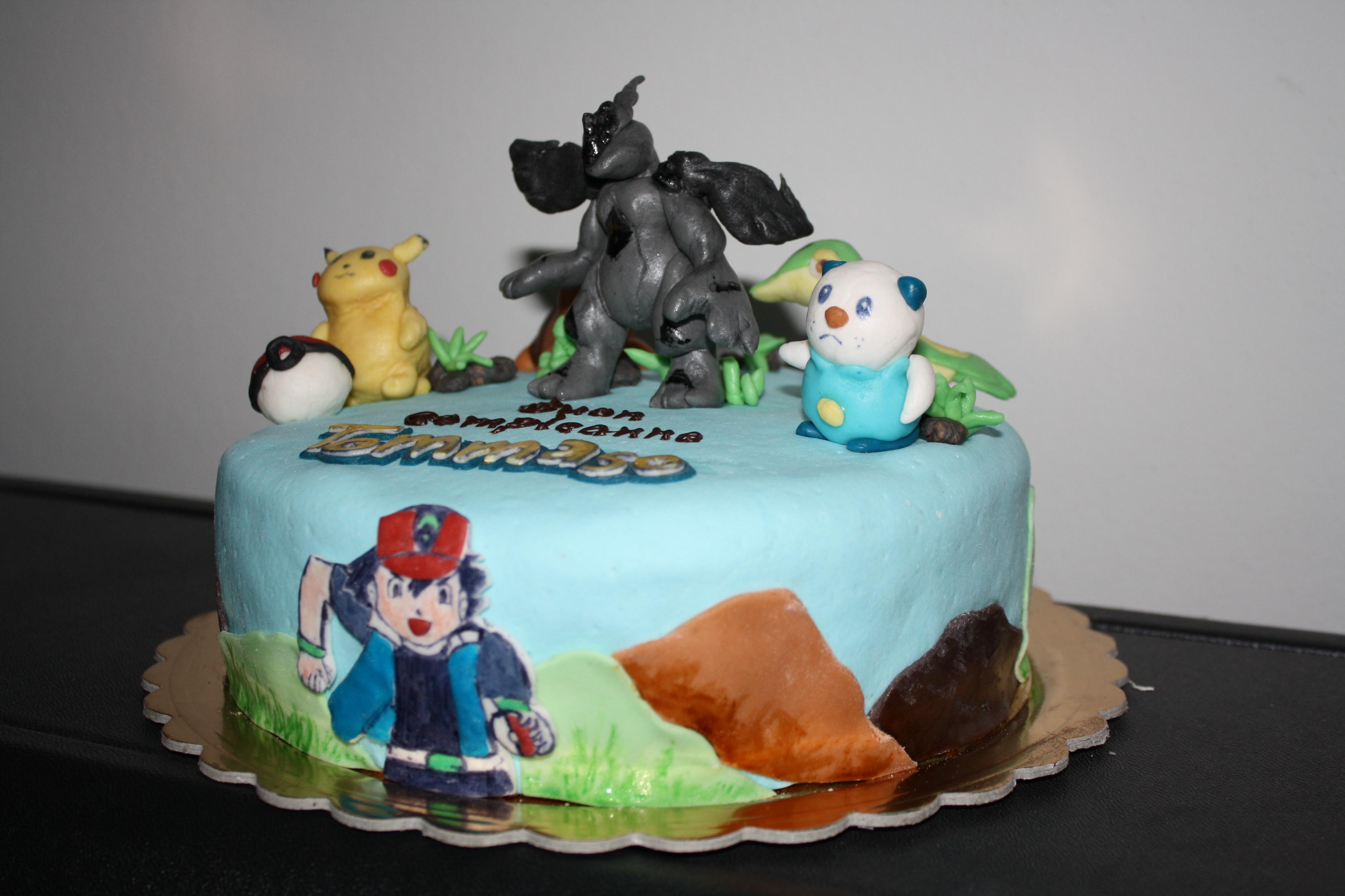Birthday Cake  Pokemon cake  The cake Boutique VI