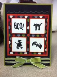 Boo! Halloween Card