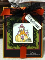 Halloween Greet Card kid