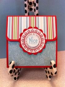 Naughty and Nice Gift Card Holder