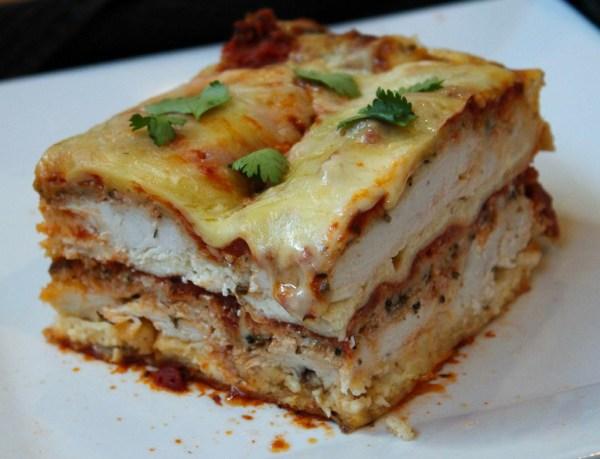Chicken Parma Lasagne