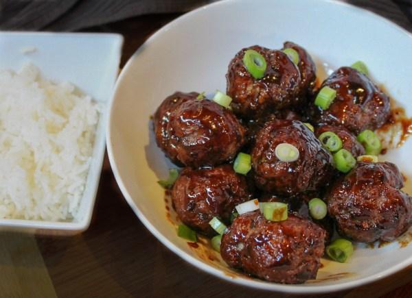 Beef Teriyaki Meatballs