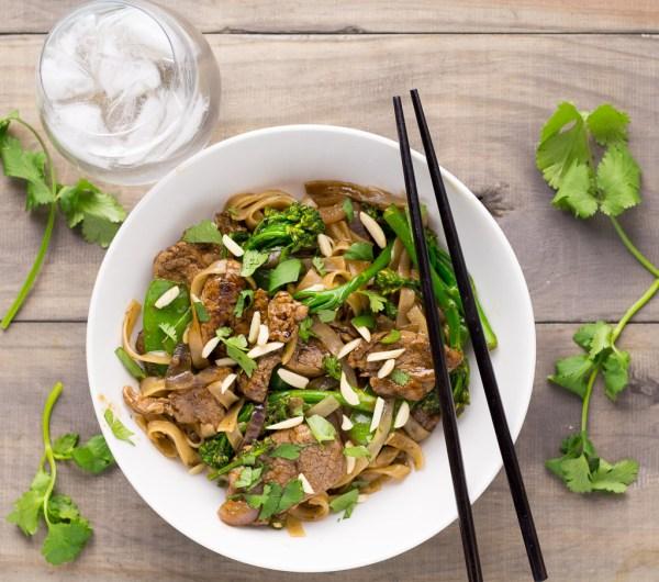 Chinese Five Spice Pork & Broccolini Stir-Fry