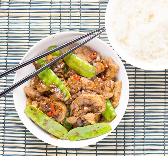 Orange Chilli Pork
