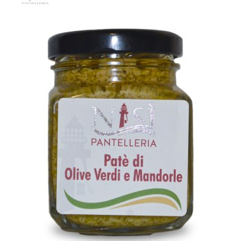 Patè di Olive Verdi e Mandorle I Cinque Sensi