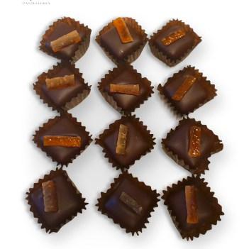 Praline Cioccolato Fondemte e Capperi