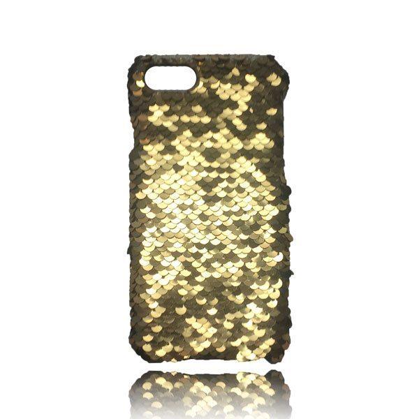 Sequin Flip Case - Gold - iPhone 8 Plus / 7 Plus / 6S Plus / 6 Plus 1