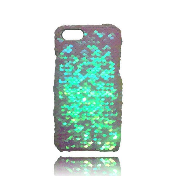Sequin Flip Case - White - iPhone 8 / iPhone 7 / iPhone 6S / iPhone 6 1