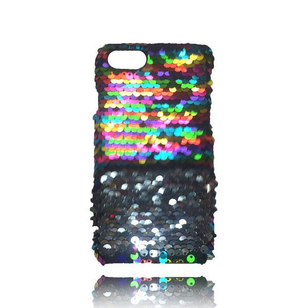 Sequin Flip Case - Rainbow - iPhone 8 Plus / 7 Plus / 6S Plus / 6 Plus 2