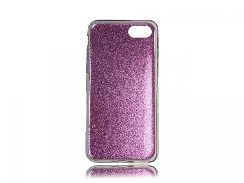 TPU Design Case Triangles - Purple - iPhone 8 / iPhone 7 2