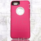 Picture of Defender Hybrid Case w/Clip (Pink/White) - iPhone 6 Plus / 6S Plus