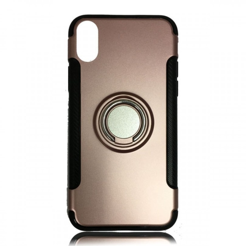 iPhone X/XS DoRing Case Cover Rose Gold 1