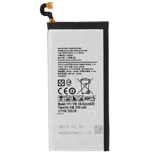 2550 mAh EB-BG920ABE Internal Replacement Battery for Samsung Galaxy S6 1