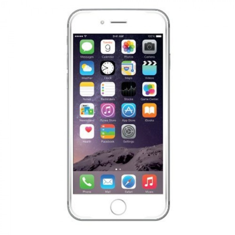 iPhone 6S Plus- 128GB Fully Unlocked - Silver (Renewed) 1