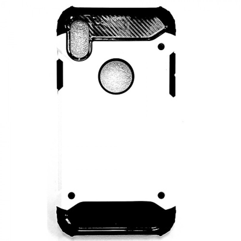 iPhone X/XS Armor Style Case White 1