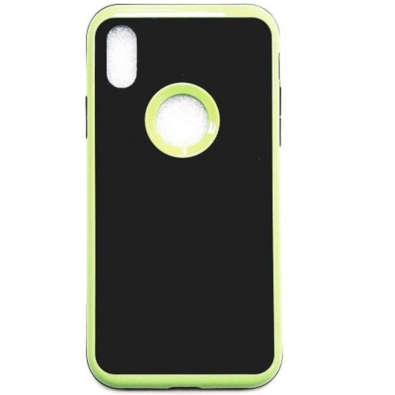 iPhone X/Xs Moto Case LIGHT GREEN 1