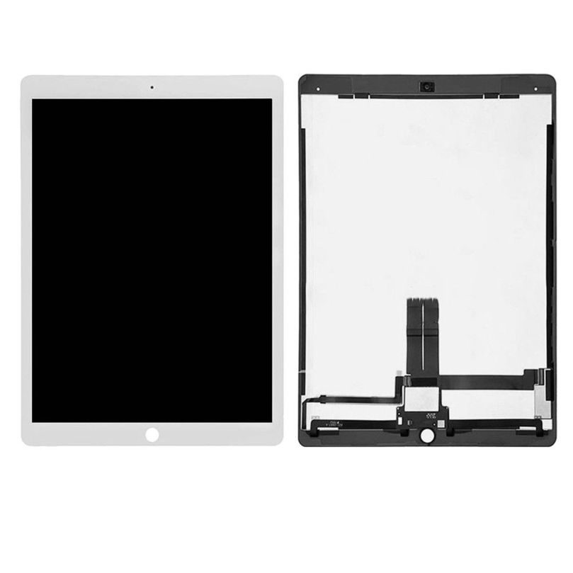 LCD Display Touch Screen Digitizer White For iPad Pro 12.9 1st Gen w/ PCB Board 1