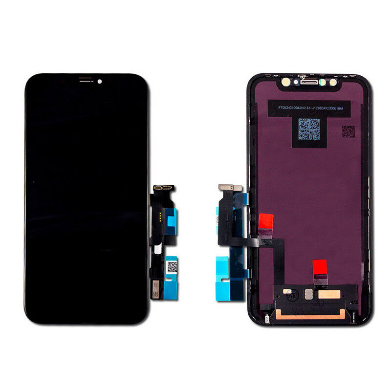 Liquid Display LCD with Force Touch Digitizer Screen Panel Frame for iPhone XR 6
