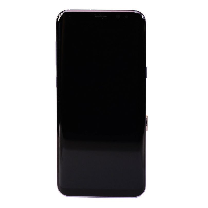AMOLED Display Touch Screen Digitizer Frame Gray For Samsung Galaxy S8 2