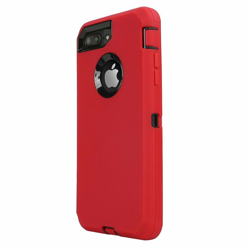 iPhone 6/6s Heavy Duty Case w/Clip RED/BLACK 1