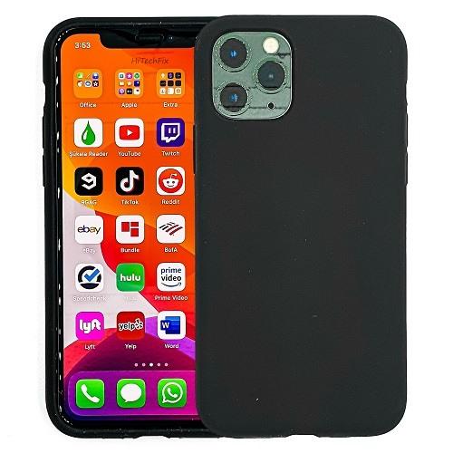 IPHONE-11-PRO-MAX-CASE-SILICONE-BLACK-0