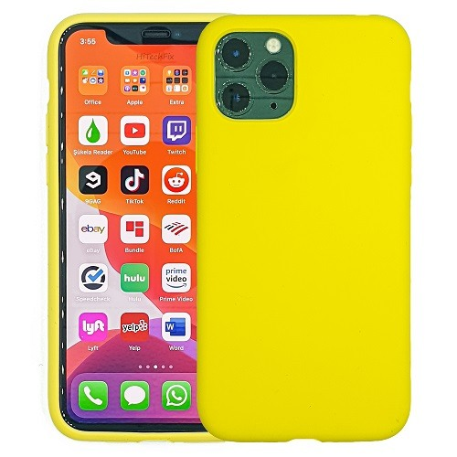 IPHONE-11-CASE-SILICONE-YELLOW-0