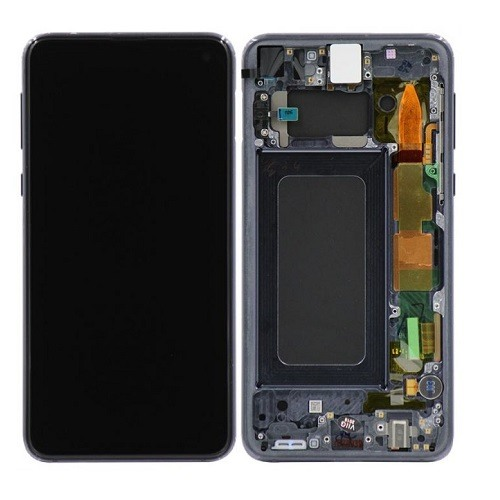 Blue Amoled LCD Display Touch Screen Digitizer   Frame Samsung Galaxy S10e 1