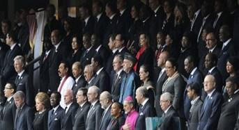World Leaders Honour Mandela At Memorial Service