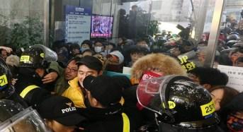 Amnesty International Decries Police Brutality In South Korea