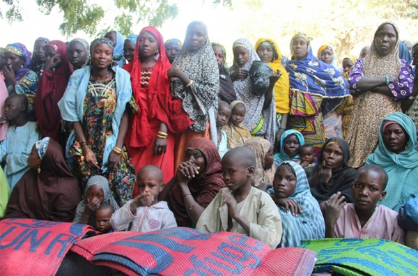 Image result for Underage IDPs in Nigeria