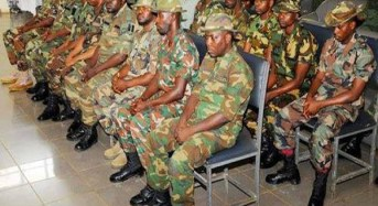 97 Soldiers Charged With Mutiny And Other Offences To Be Arraigned Oct. 15