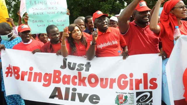 Bring Back Our Girls Campaigners
