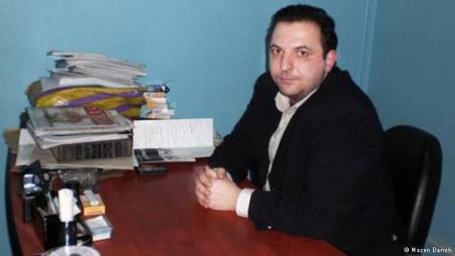 Mazen Darwish, jailed Syrian journalist