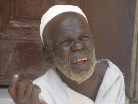 Ali, the 81 year old IDP