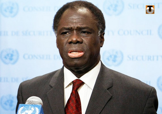 Burkina Faso interim President, Michel Kafando, was detained by the country's military following a coup. Photo: afrika.no
