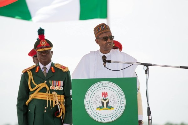 Image result for president buhari Independence speech