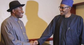 Jonathan, Two Former Leaders, Attend Council of State Meeting