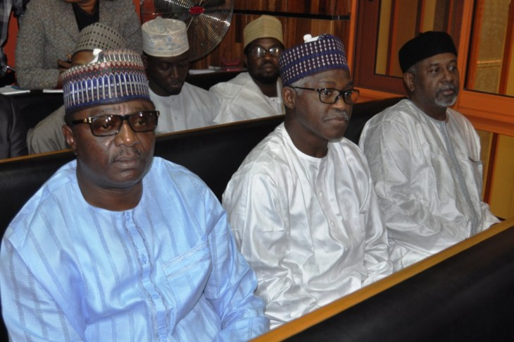 Dasuki and others in court