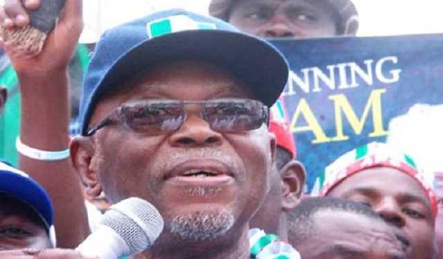 APC National Chairman, John Odigie - Oyegun
