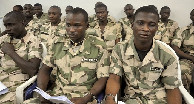 NIGERIA-UNREST-COURT-MILITARY-TRIAL