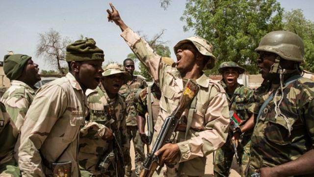 Nigerian-troops