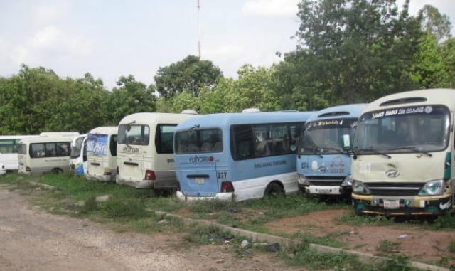 Broken down mass transit buses